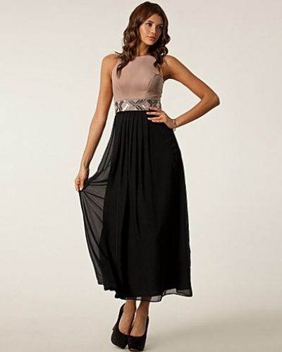 Elise Ryan Ponti Chiffon Maxi Dress