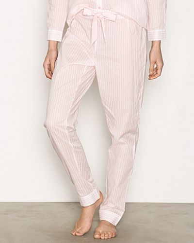 Pyjamas Poplin Pant Stripe från Hunkemöller