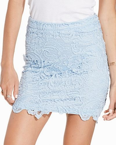 Price Ines Lace Skirt Rut&Circle minikjol till kvinna.