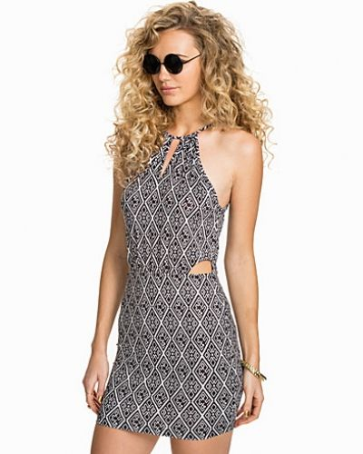 NLY Trend Printed Cut Out Dress