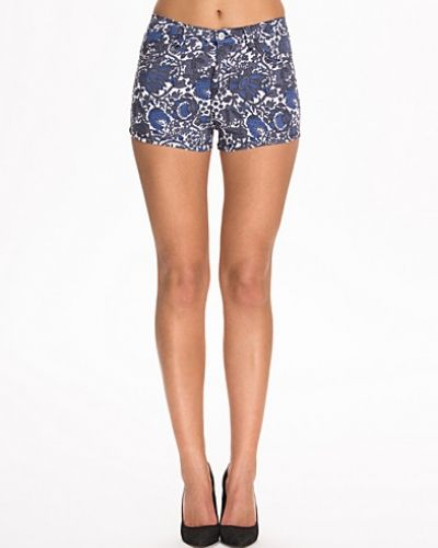 Printed Denim Shorts NLY Trend shorts till dam.
