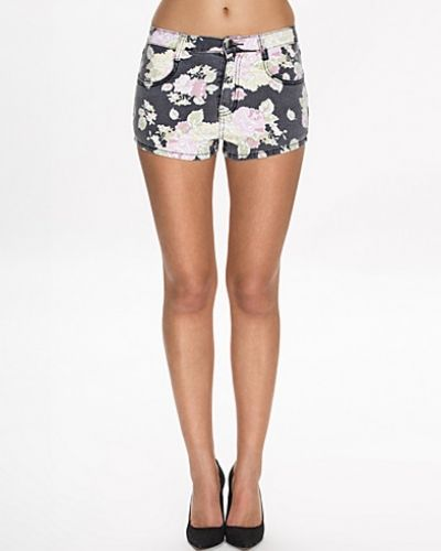 Shorts Printed Denim Shorts från NLY Trend