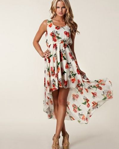 Ax Paris Printed Drop Maxi Dress