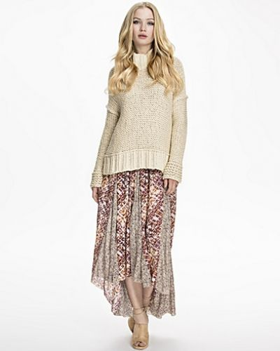 Printed Rayon Gauze Show You Off Skirt Free People långkjol till tjej.