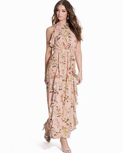 Till dam från Miss Selfridge, en flerfärgad maxiklänning.