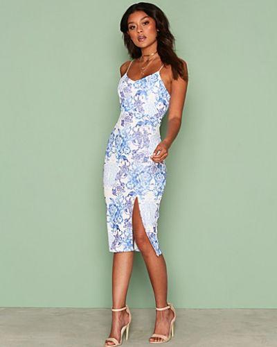 NLY One Printed Slit Midi Dress