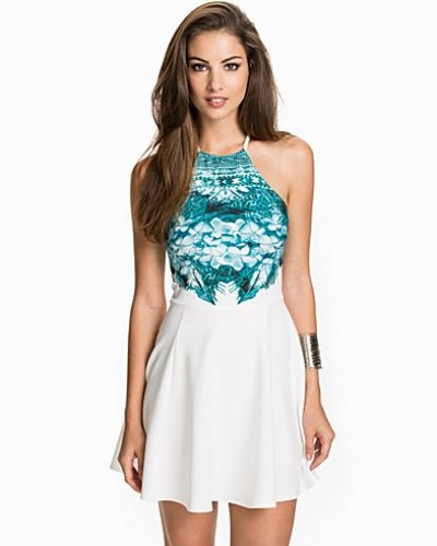 NLY One Printed Top Skater Dress