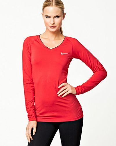 Nike Pro LS V-neck ll. Traningstrojor håller hög kvalitet.