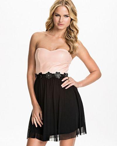 Bandeauklänning PU Bustier Flower Dress från Elise Ryan