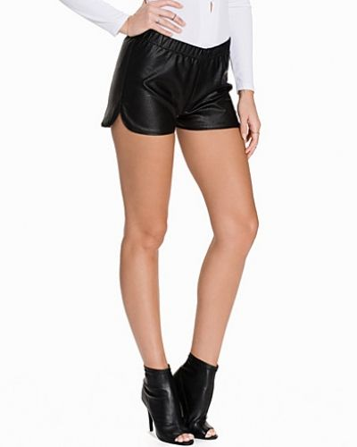 NLY Trend PU Sport Shorts