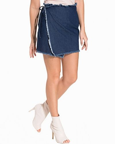 NLY Trend Raw Denim Skirt