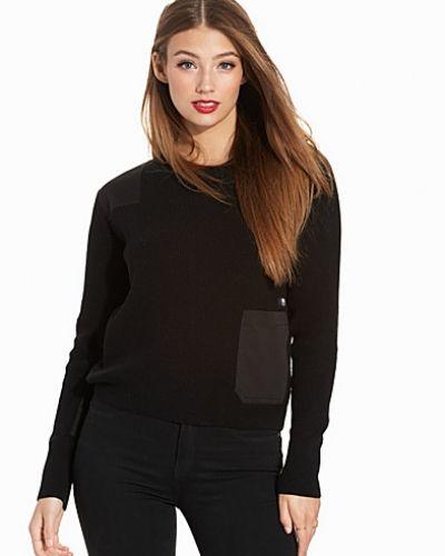 Till dam från G-Star, en flerfärgad stickade tröja.