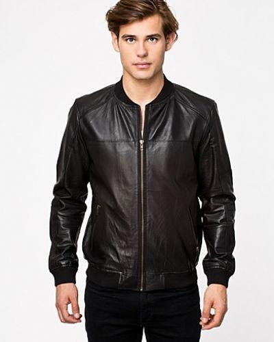 Remy Leather Jacket Core Premium by Jack & Jones skinnjacka till herr