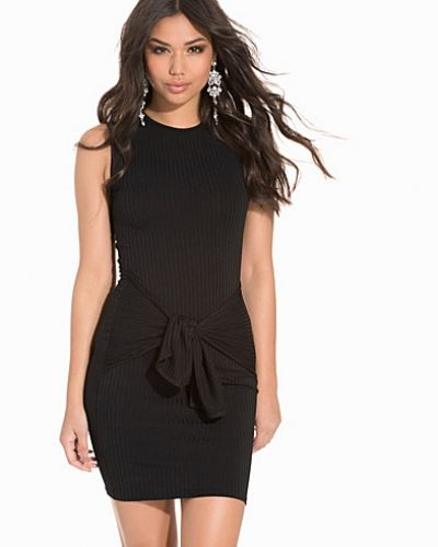 Club L Essentials Rib Knot Detail Dress