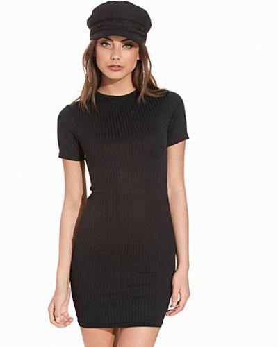 Miniklänning Ribbed Bodycon Mini Dress från New Look