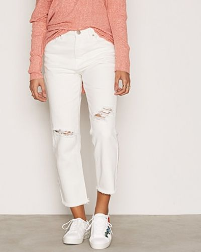 Ribbed Knees Jeans Glamorous straight leg jeans till dam.