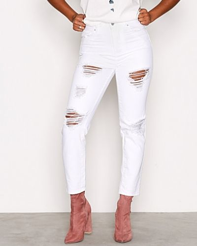 New Look Ripped Tori Mom Jeans