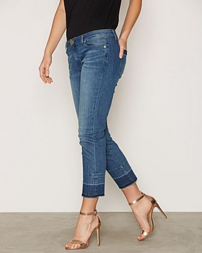 Rleasd Hem Straight Leg MICHAEL Michael Kors straight leg jeans till dam.