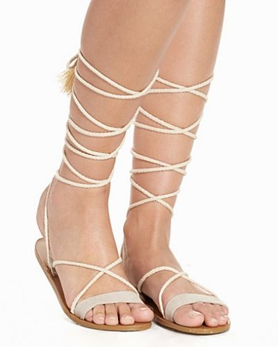 Nly Shoes Rope Lacing Sandal