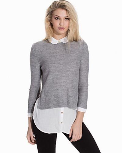 Topshop Round Collar Pullover