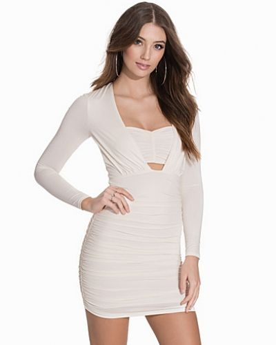 NLY One Ruched Long Sleeve Dress