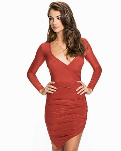 NLY One Ruched Wrap Dress