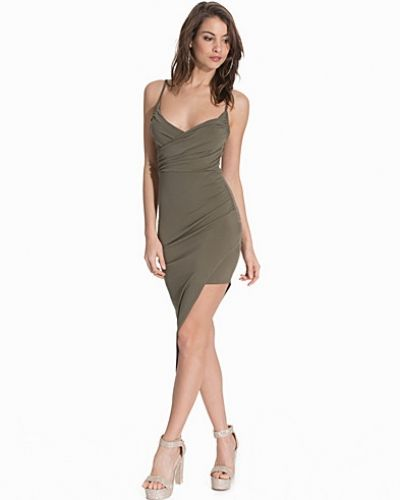 NLY One Ruched Wrap Over Dress