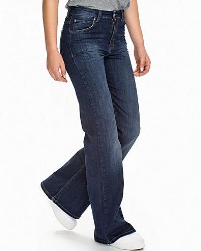Blå bootcut jeans från Dr Denim till tjejer.