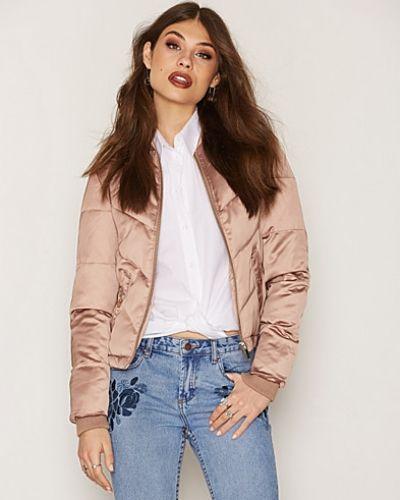 Miss Selfridge Satin Puffer Jacket