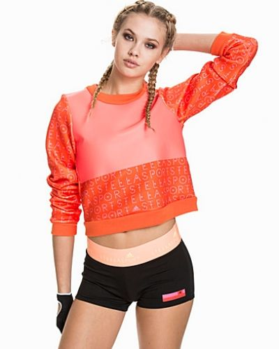 Orange sweatshirts från adidas StellaSport