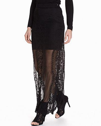 Miss Selfridge Scallop Lace Maxi Skirt