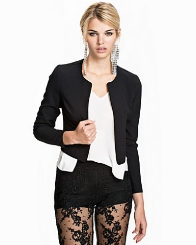 New Look Scallop Suit Jacket