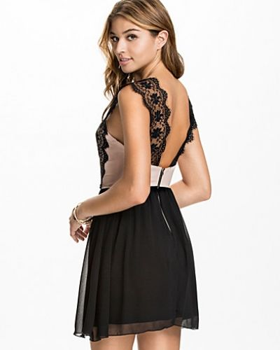 Elise Ryan Scalloped Lace Dress