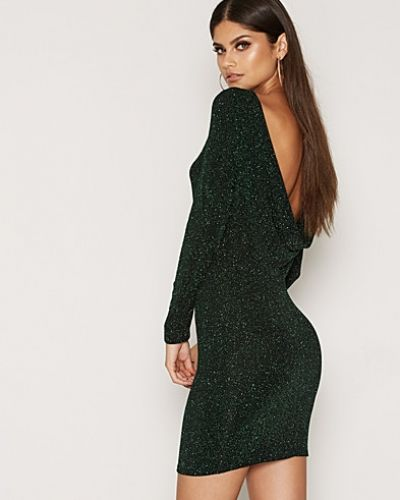 NLY One Scoop Back Sparkle Dress