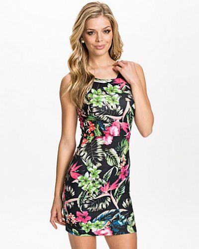 ONLY Scuba Flower S/L Dress