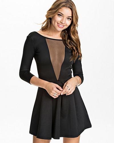 NLY Trend Scuba Skater Mesh Dress