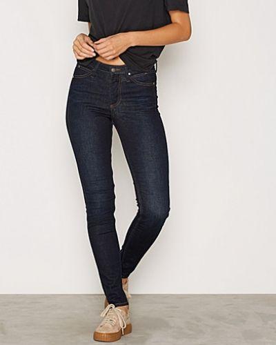 Blå slim fit jeans från Calvin Klein Jeans till dam.