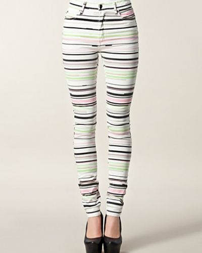 Slim fit jeans Second Skin Multi Stripe från Cheap Monday