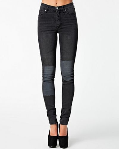 Cheap Monday Second Skin Printed Patch Black
