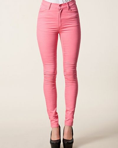 Slim fit jeans Second Skin Strawberry Pink från Cheap Monday