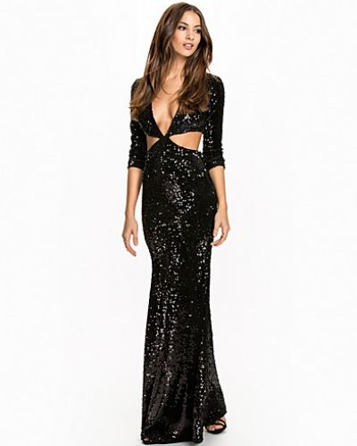 Nly Eve Sequin Cut Out Gown