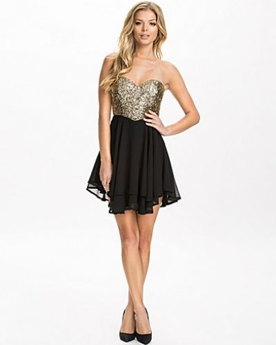 Te Amo Sequin Sweetheart Skater Dress