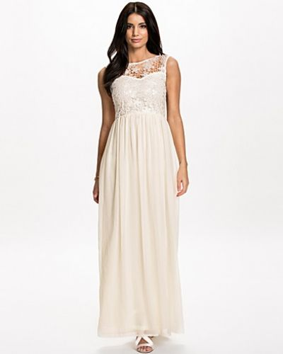 Club L Sequins Crochet Maxi Dress