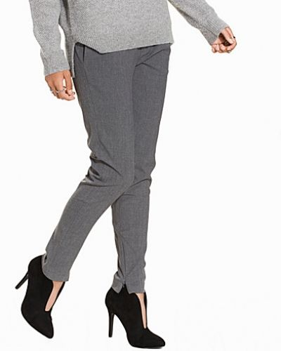 Selected Femme SFMUSE CROPPED MW PANT - MGM NOOS