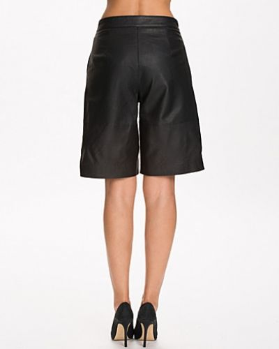 Selected Femme Sftanja Long Leather Shorts