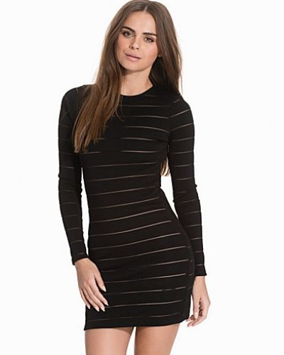 Topshop Sheer Solid Dress