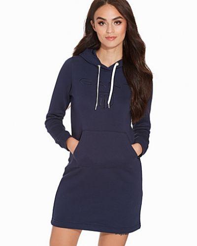 Shield Hoodie Dress Gant klänning till dam.