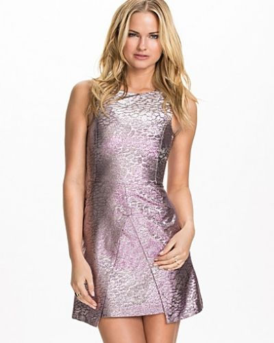 Miss Selfridge Shimmer Asymmetric Dress