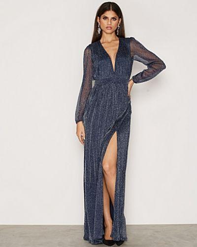 Shimmery Maxi Gown Nly Eve långärmad klänning till dam.