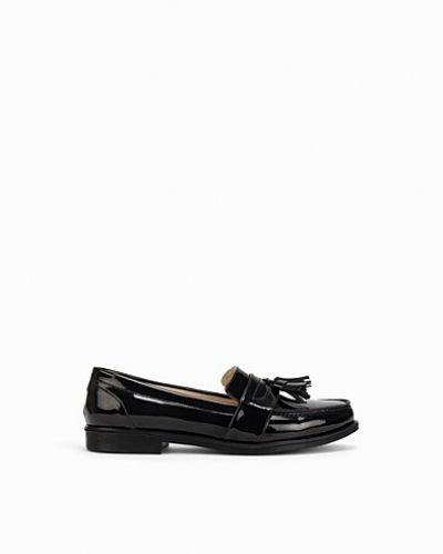 Svart loafers från Nly Shoes till dam.